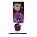 7 Heavens Photo Genic 2 In 1 Waterproof  Gel Kajal And Cake Eyeliner 24 Hours Jet Black-4gm+3gm